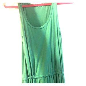 green splendid maxi dress